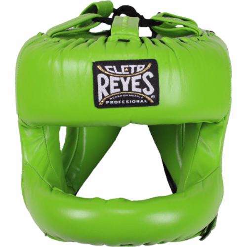 Cleto Reyes Rounded Facebar Headguard - Green